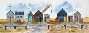 PETER-MORGAN-Southwold-Harbour-Huts-and-Crane