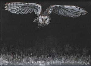 Artist: Joanna BrownTitle: Flight (SOLD)