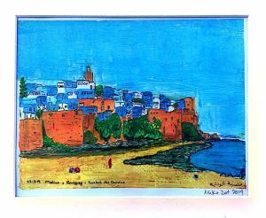 Artist: Mike DottridgeTitle: Kasbah des Ouadiya (Rabat Medina, Morocco), 2019