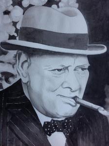 Artist: Mei DongTitle: Churchill