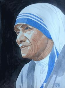 Artist: Mei DongTitle: Mother Theresa