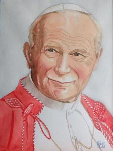 Artist: Mei DongTitle: Pope John Paul lI