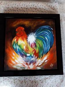 Artist: Helen Millar Title: Cockeral