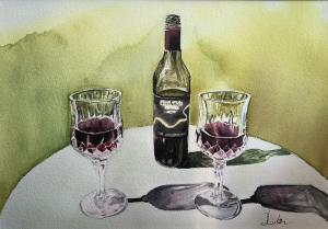 Artist: Meiru LudlowTitle: Simple pleasure
