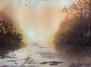 Artist: Meiru LudlowTitle: Sunset