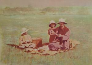 Artist:  Vivienne MachellTitle:  India 1928