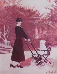 Artist:  Vivienne MachellTitle:  Malta 1927