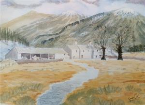 Artist: Carl FilbyTitle: Snowdonia Farmhouse