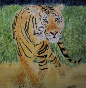 Artist: Carl FilbyTitle: Tiger