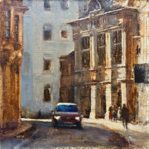 Artist: Yang YuxinTitle: Pembroke Street, Cambridge