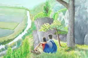 Artist:   Graham BensteadTitle:     Enjoying The View