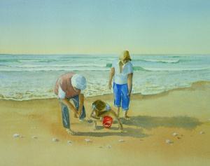 Artist:   Graham BensteadTitle: Young Beachcomber