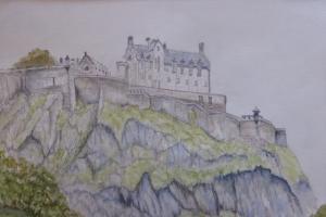 Artist: Hazel HaywoodTitle: Edinburgh Castle