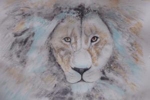 Artist: Hazel HaywoodTitle: Lion
