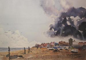 Artist: Peter MorganTitle: Storm Cloud over Aldeburgh