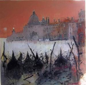 Artist: Carol MountfordTitle: Sunset Venice